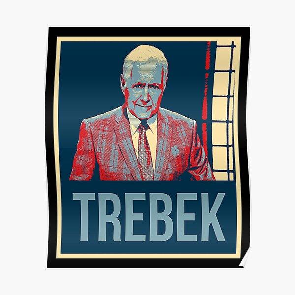 RIP ALEX TREBEK game show host Poster