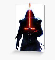 Star Wars Kylo Ren Greeting Card