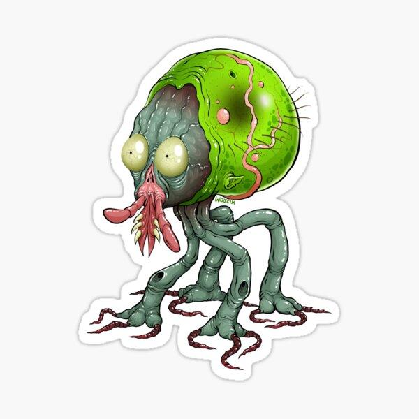 Tick Monster Sticker