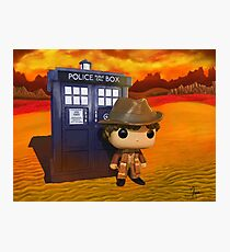 4th Doctor On Gallifrey Photographic Print