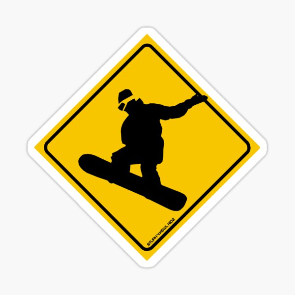 Ride or Die SNOWBOARD STICKER oldschool sticker Winter Sports Snowboarding Board