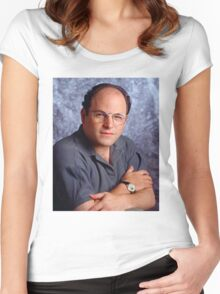 George Costanza Bae Women's Fitted Scoop T-Shirt