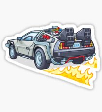 back to the future stickers redbubble. Black Bedroom Furniture Sets. Home Design Ideas