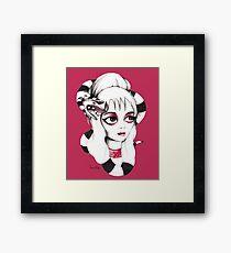 Lydia Deetz Framed Print