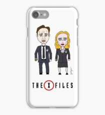 The X - Files iPhone Case/Skin
