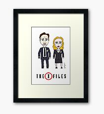 The X - Files Framed Print