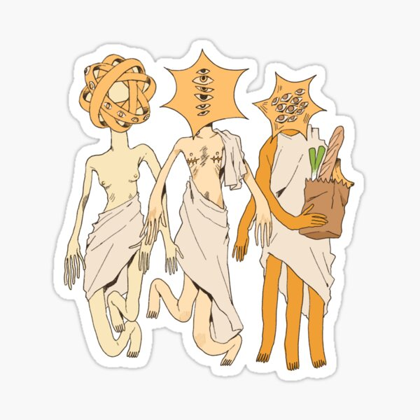 Grocery Angels Sticker