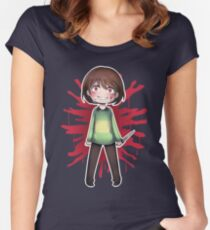 Undertale - Chara Women's Fitted Scoop T-Shirt