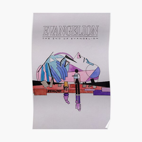 The End of Evangelion (Suprematism) Poster