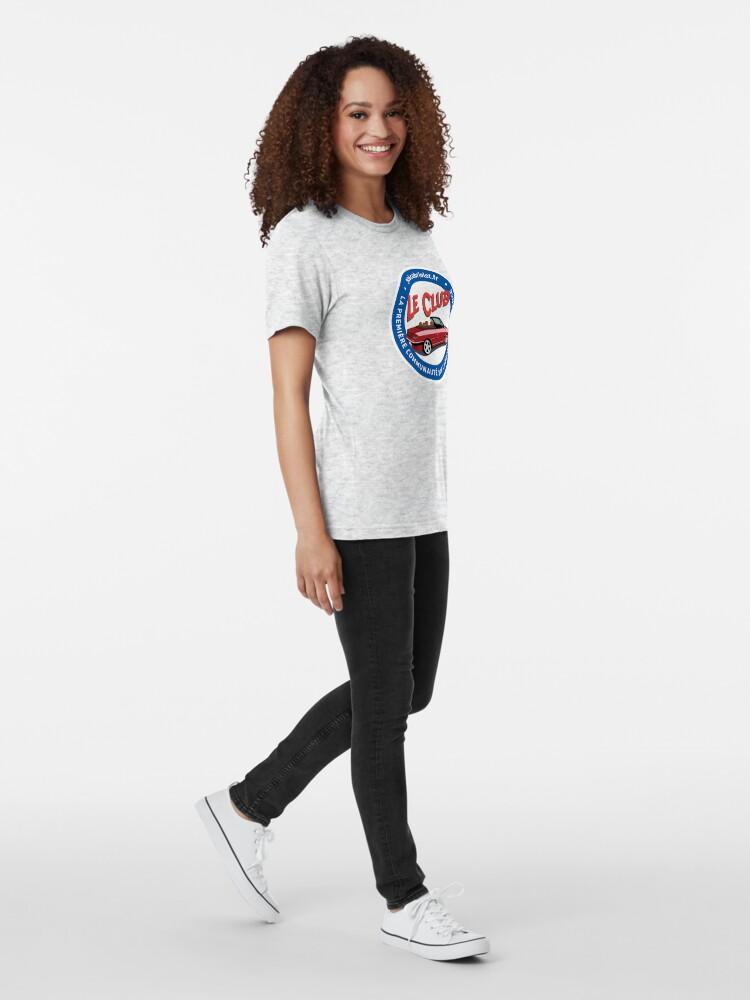 """T-shirt chiné ''306cabriolet.fr - Le CLub - """"Official""""': autre vue"""