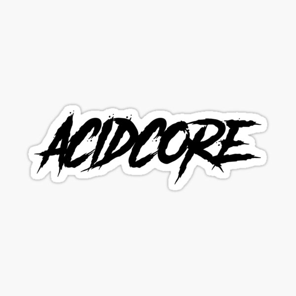 Acidcore Sticker