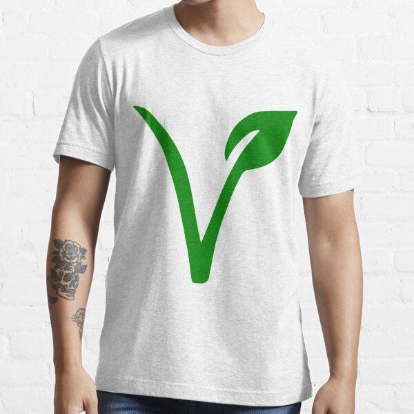 Vegetarian Symbol Essential T-Shirt
