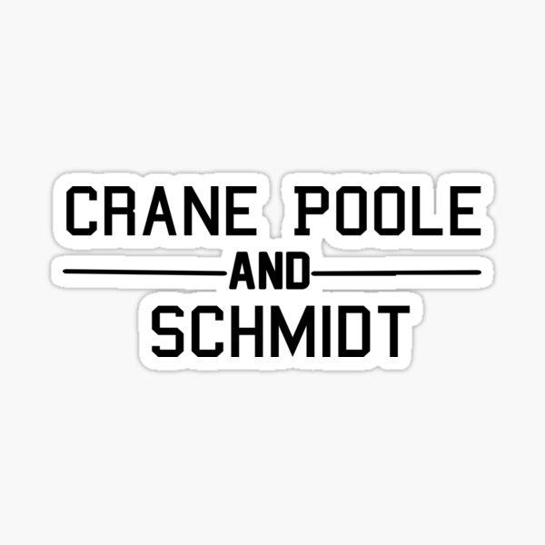 Crane Poole And Schmidt Sticker