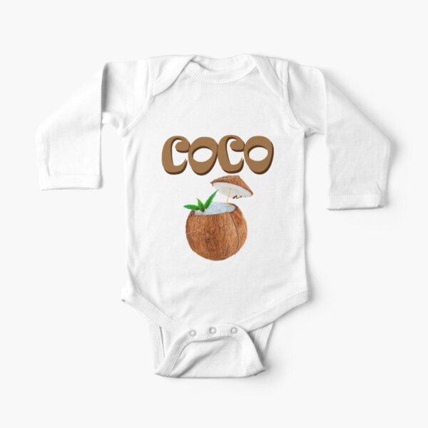 Coconut Long Sleeve Baby One-Piece