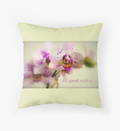 All good wishes... Throw Pillow