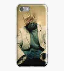 Almost invisible man iPhone Case/Skin