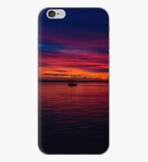 Boat in a Sunset iPhone Case