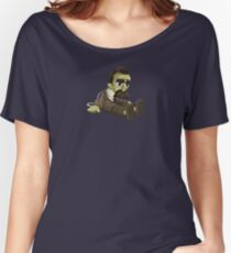 Nietzsche doll for truly lovers - glitch videogame Women's Relaxed Fit T-Shirt