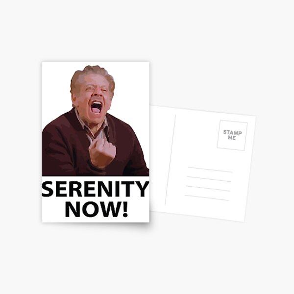 Frank Costanza - Serenity Now Postal