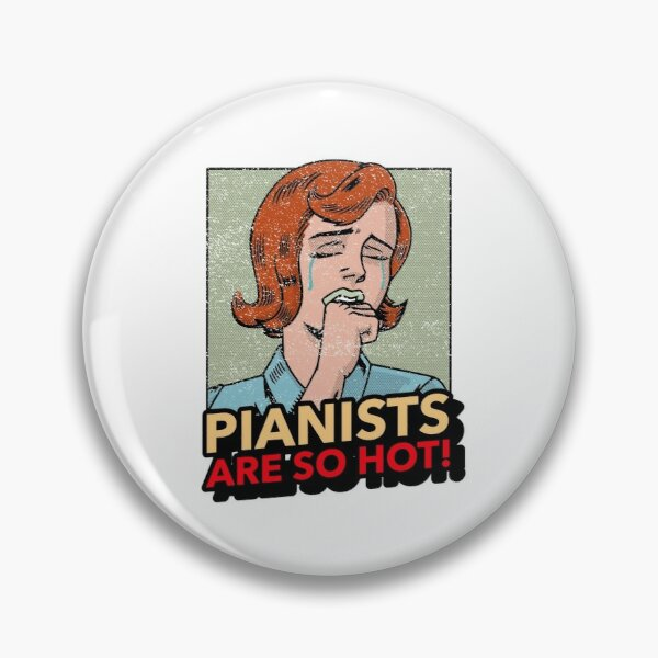Pianists are so hot Pin