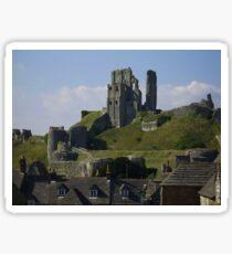 Corfe Castle Sticker