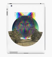 Wolf Hologram  iPad Case/Skin