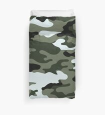 Modern Camouflage - Forest Duvet Cover