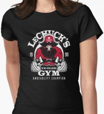 Ye Olde Gym Women's Fitted T-Shirt