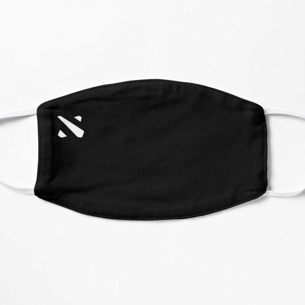 Logotipo de Dota 2 Mascarilla plana