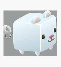 Cubimal Snowcone vendor - glitch videogame Photographic Print