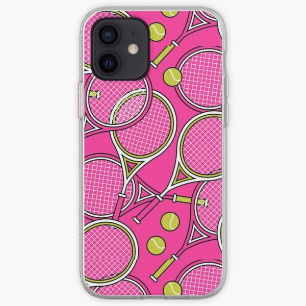 Tennis Sports Fun Arts Coque souple iPhone