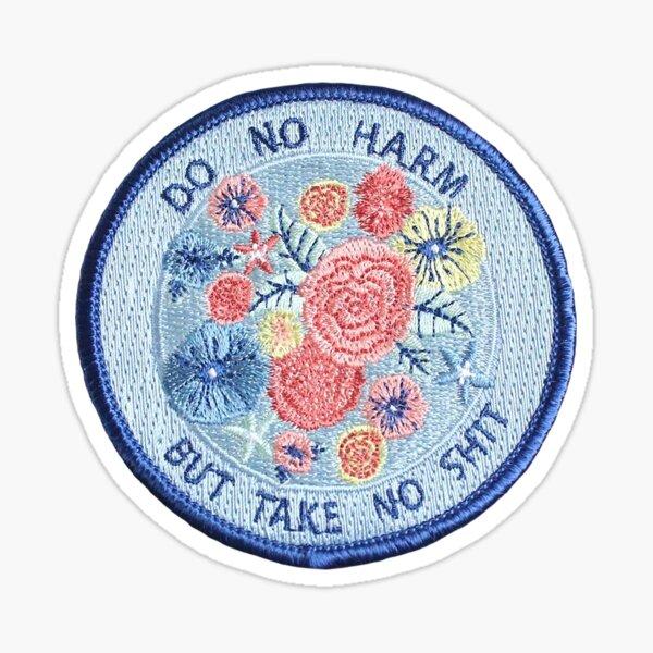 Do No Harm Patch Sticker