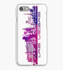 Las Vegas skyline purple iPhone Case/Skin