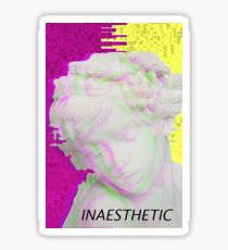 iNAESTHETICS STICKERS Sticker