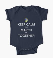 Keep Calm And March On Together One Piece - Short Sleeve