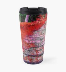 Stairway To Somewhere: A Fall Night Travel Mug