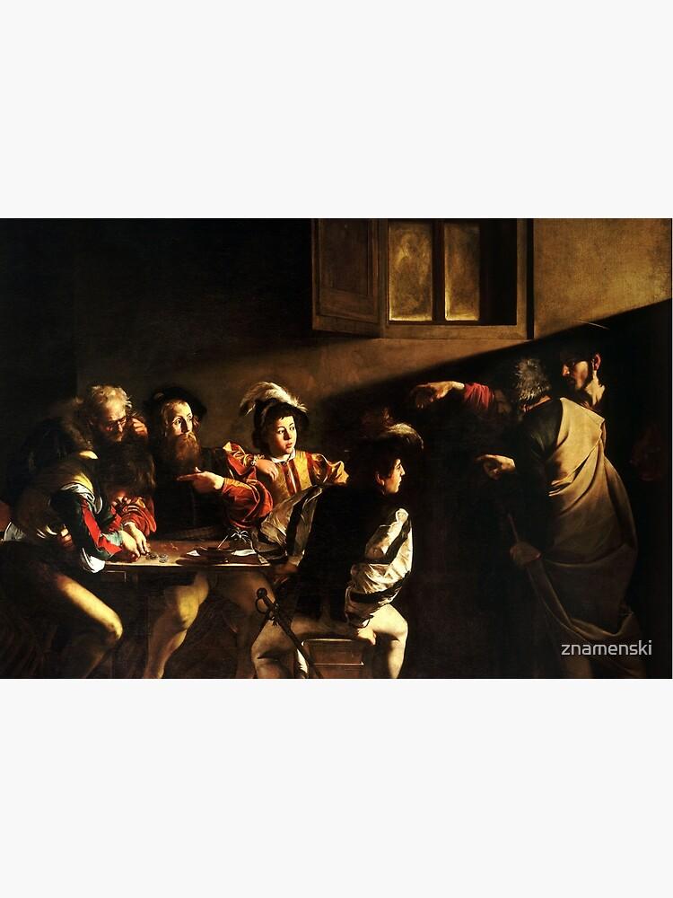The Calling of Saint Matthew, masterpiece, Michelangelo Merisi da Caravaggio, #People, #group, #adult, #art, music, indoors, furniture, painting, flame, men, home interior, light, natural phenomenon by znamenski