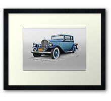 1932 Pierce Arrow 54 Club Brougham Framed Print