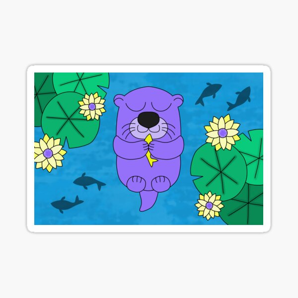 Lottie la loutre Sticker