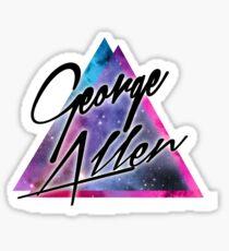 George Allen logo artwork Sticker