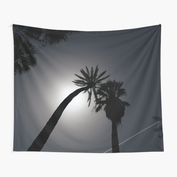 Palms & Chemi Trails Tapestry