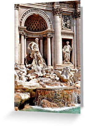 Trevi Fountain by Thomas Barker-Detwiler