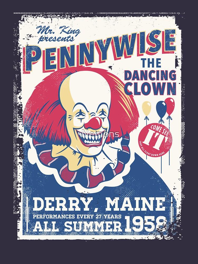 The Dancing Clown   Unisex T-Shirt