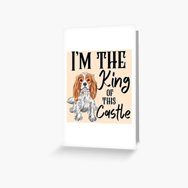 I'm The King Of This Castle Greeting Card