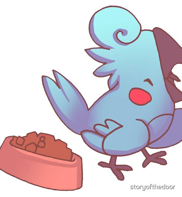 Rude Cockatiel Bird 1 - Shriek! by storyofthedoor