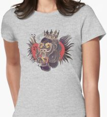 Conor Mcgregor Gorilla Tattoo (grey) Womens Fitted T-Shirt