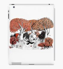 Little Red Riding Hood Print with wolf, forest iPad Case/Skin