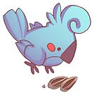 Rude Bird- Seeds by devilsbakery