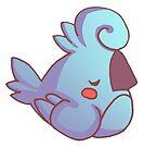 Rude Bird- Sleepy by devilsbakery