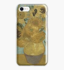Vincent Van Gogh  - Sunflowers , Impressionism , Fine Art iPhone Case/Skin